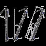 gin pole,derric, podnosnik słupowy, konstrukcje aluminiowe