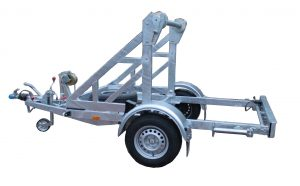 Cable trailers up to 3.5 t.