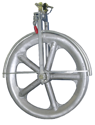single conductor pulley