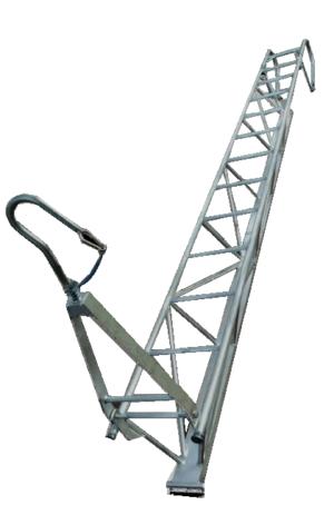 Aufhängeleiter, drabina trójkątna, anchoring ladder