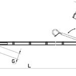 Drabina zawieszana przystosowana do użytku pionowego i poziomego.