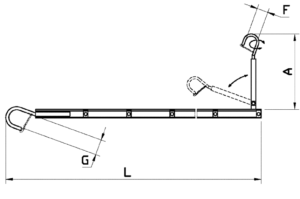drabina zawieszana, suspension ladder