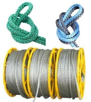 Steel and Nylone ropes