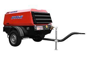 kompressor, Druckluftkompressor , compressor with aftercooler, diesel compressor, compressor with aftercooler,kompresor mobilny, z chłodnicą końcową