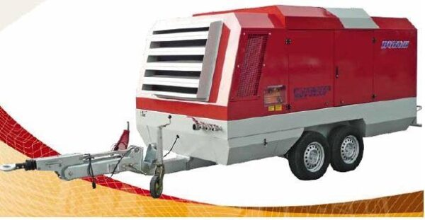 kompressor, mobile compressor with aftercooler, kompresor mobilny 120P