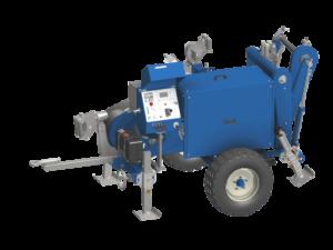 wciągarka hydrauliczna, kabelziehwinde, hydraulic puller