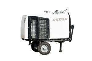 Schraubenkompressoren, kompresor mobilny, portable compressor, Fahrbarrer kompressor