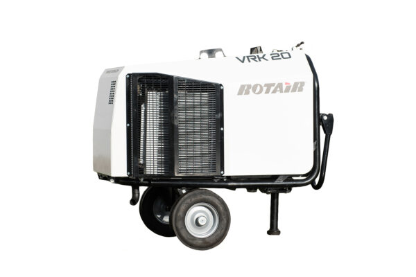 kompresor mobilny, portable compressor, Fahrbarrer kompressor