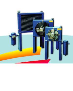 Druckluftkühler mit Trockner, chłodnica końcowa, aftercooler, airblast