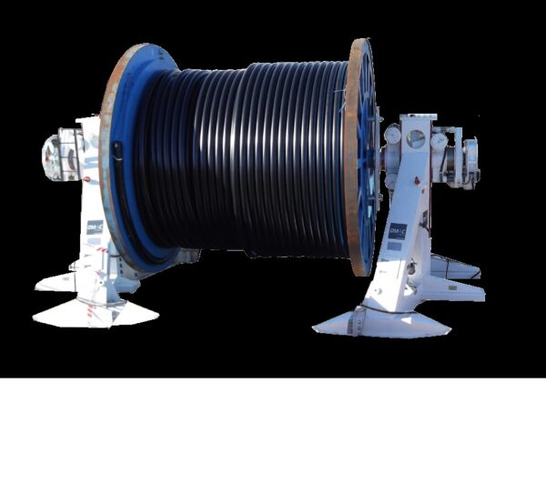 stojak kablowy, reel-stands, trommelbock